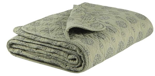 ib laursen plaid decke sofadecke quilt olive gr n130 x 180 cm steppdecke neu ebay. Black Bedroom Furniture Sets. Home Design Ideas